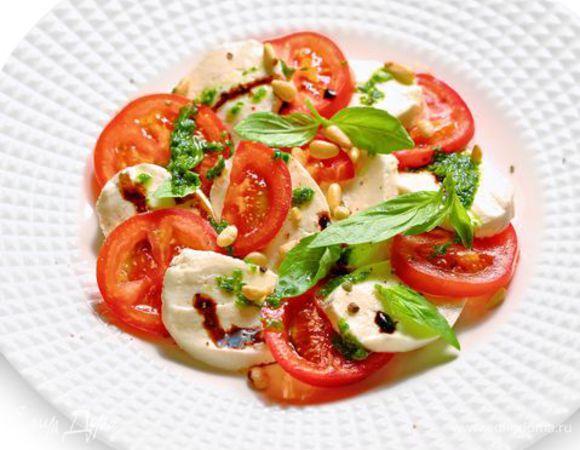 Салат Капрезе с пастой – простой и быстрый рецепт обеда для всей семьи