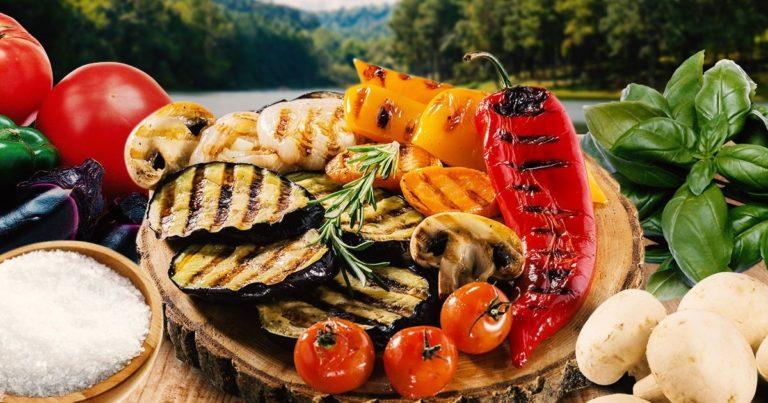 Самый вкусный гарнир – овощи приготовленные на гриле, пошаговый рецепт с фото