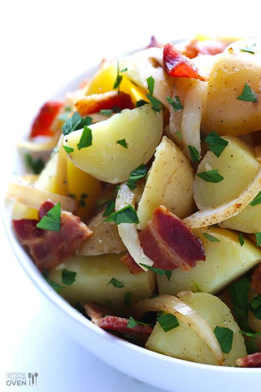 Немецкий картофельный салат – пошаговый рецепт