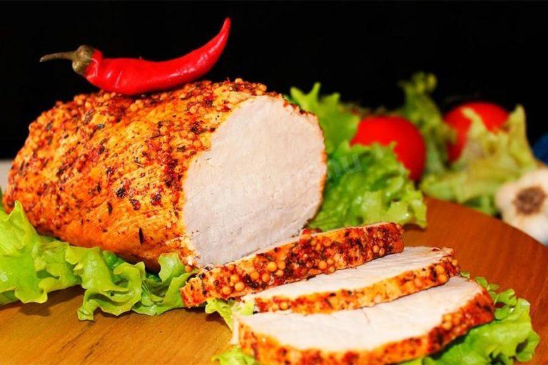 Пастрома из куриной грудки в домашних условиях – простой и вкусный рецепт