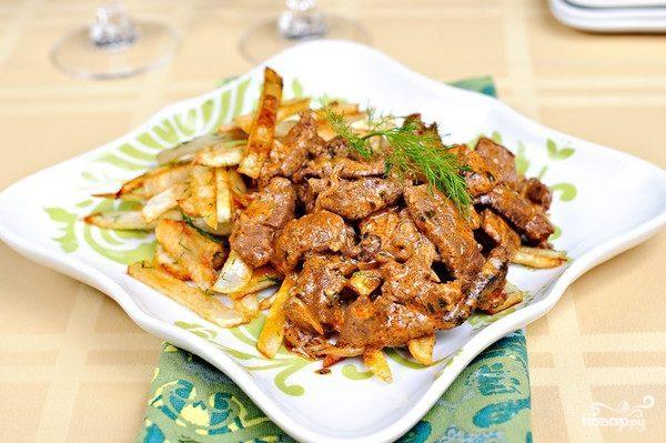 Бефстроганов – рецепт вкусной говядины в домашних условиях