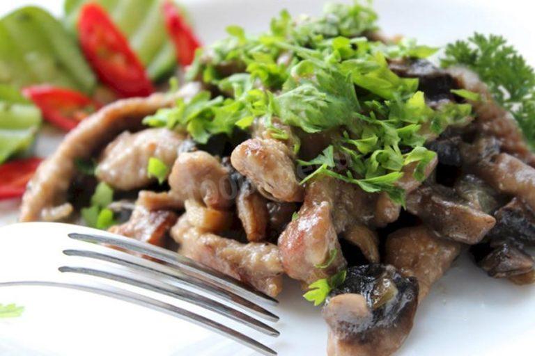 Бефстроганов из говядины — идеальное мясо к любому гарниру