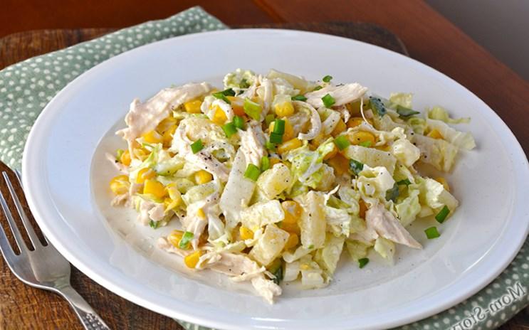 Салат из пекинской капусты – блюдо, которое заслуживает праздничного стола!