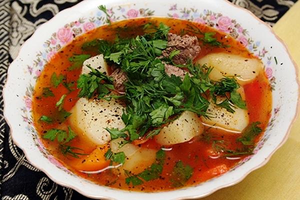 Шурпа – восхитительное первое блюдо с востока рецепт с фото