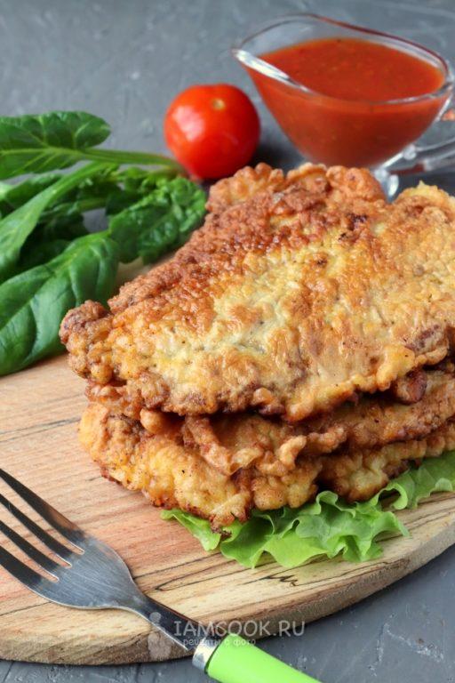 Отбивные с корейки с гарниром – пошаговый рецепт вкусного обеда с фото