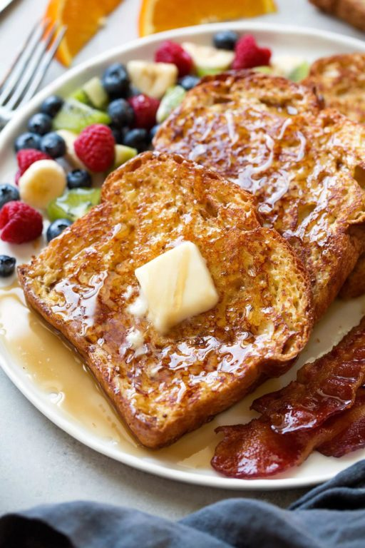 Французские тосты – простой рецепт вкусного завтрака