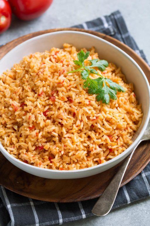 Готовим рис по-мексикански – простой пошаговый рецепт с фото