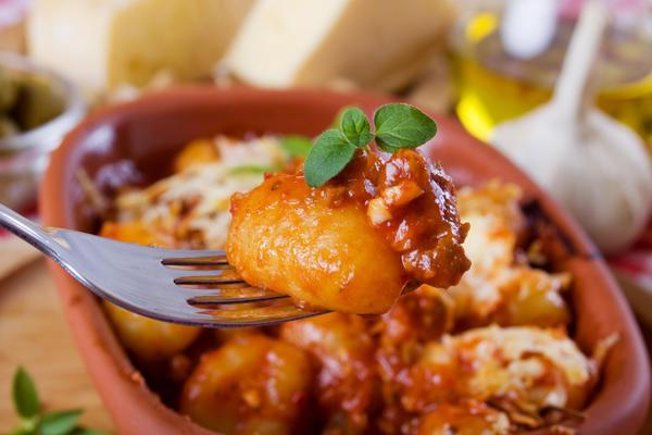 Нежные картофельные ньокки – идеальный вариант закуски быстро и просто