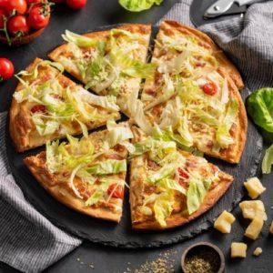 Вкусная, сытная, а главное быстрая ленивая пицца: рецепт с фото
