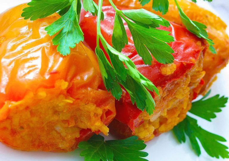 Фаршированный маринованный перец: вкусные корзиночки по оригинальному рецепту (намного вкуснее классических фаршированных перцев)