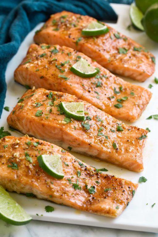 Запеченный лосось в духовке – простой и вкусный рецепт, готовим вместе