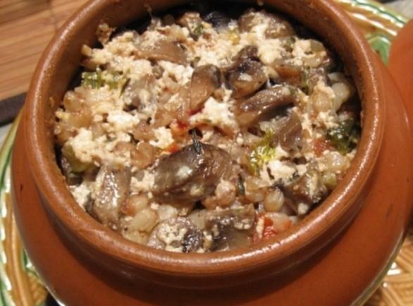 Рецепт вкуснейшей царской каши с сердечками и грибами пошагово с фото
