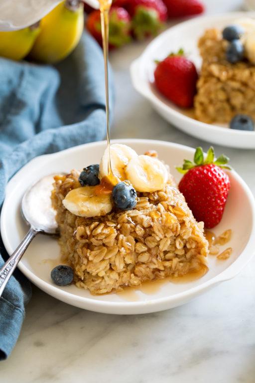 Запеченная овсянка – вкусный и быстрый рецепт сытного завтрака