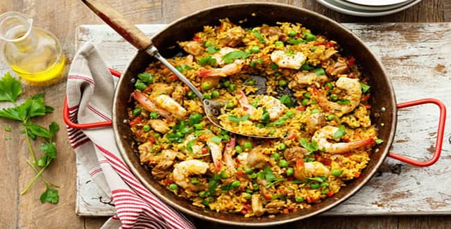 Ароматная паэлья с морепродуктами – пошаговый рецепт традиционного испанского блюда