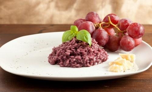 Классический рецепт итальянского ризотто с говядиной в красном вине