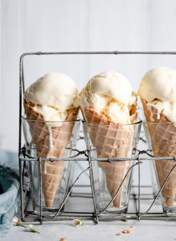 Простой рецепт ванильного мороженого, готовим вместе