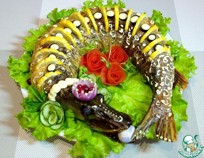 Оригинальный рецепт с фото: приготовление фаршированной щуки «По щучьему веленью»
