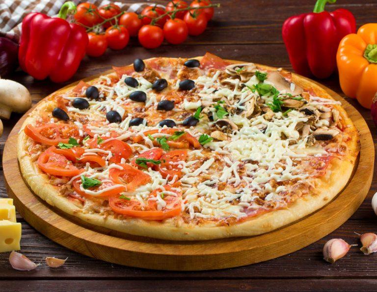 Изумительная пицца ассорти – самые вкусные рецепты с фото