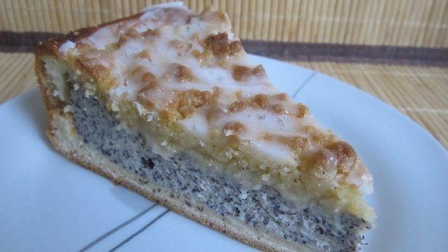 Пирог маковый с джемом – лучший рецепт вкусного десерта с подробной инструкцией и фото