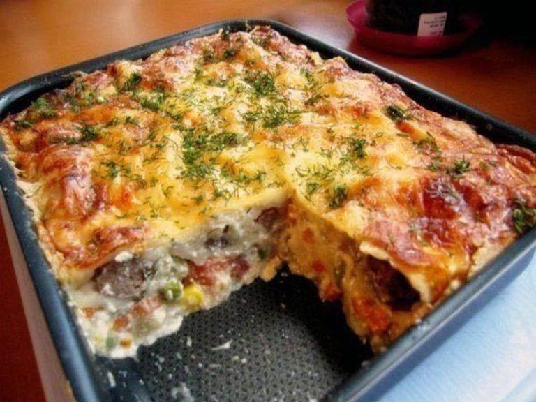 Картофельная запеканка с грудинкой – вкусный обед по очень простому и легкому рецепту