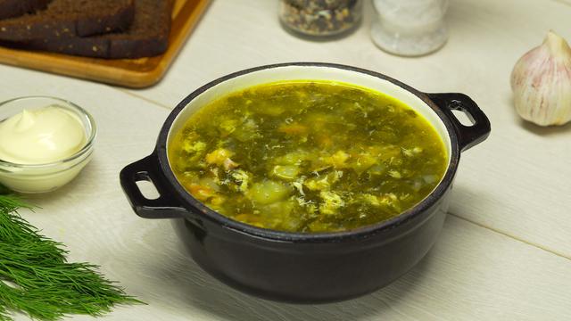Суп со щавелем: самый простой пошаговый рецепт с фото