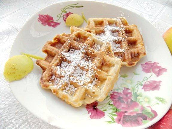 Пробуем яблочные вафли, рецепт от которого все будут в восторге