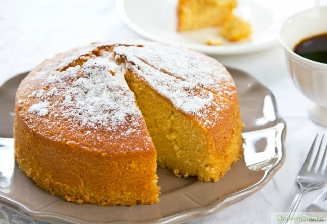 Апельсиновый торт – простой и вкусный десерт к домашнему чаепитию