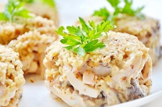 Салат «Мужской каприз» - идеальный выбор для его ужина! Пошаговый рецепт с фото