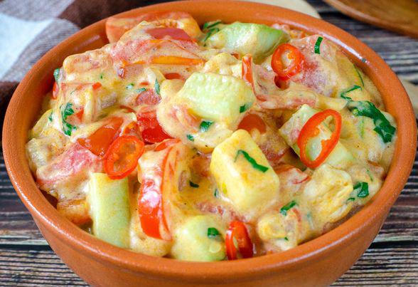 Веганский рецепт паприкаша – сытно, вкусно, незабываемо