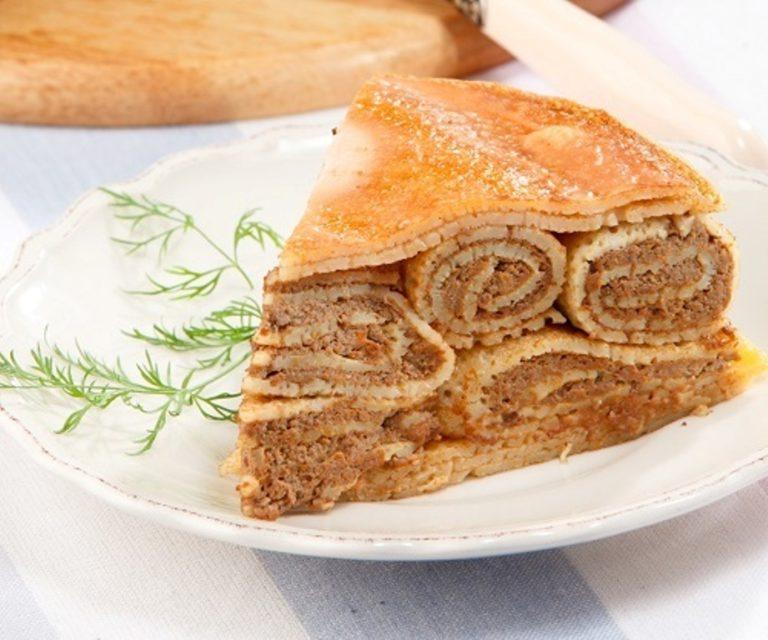 дело пироги из блинов рецепты фото проделал огромную