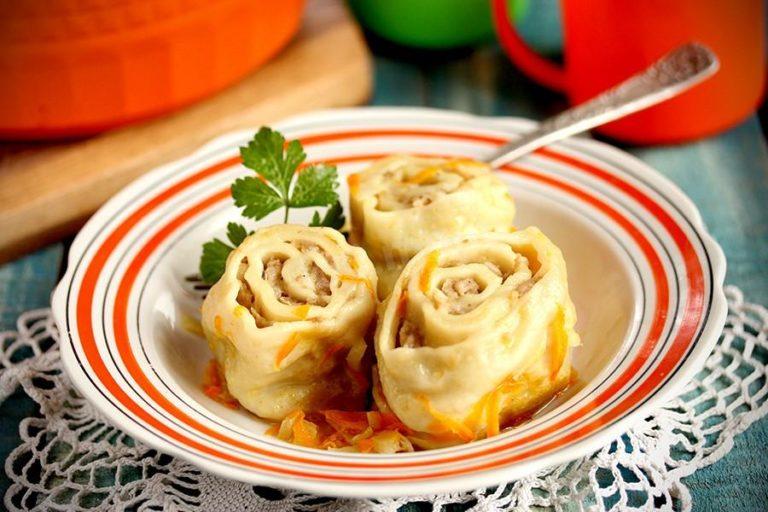 Ленивые пельмени с картошкой – постный рецепт сытного блюда