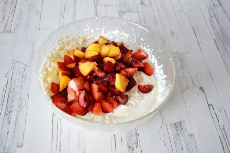 Творожная масса с овощами или фруктами – рецепты полезных десертов для всей семьи!
