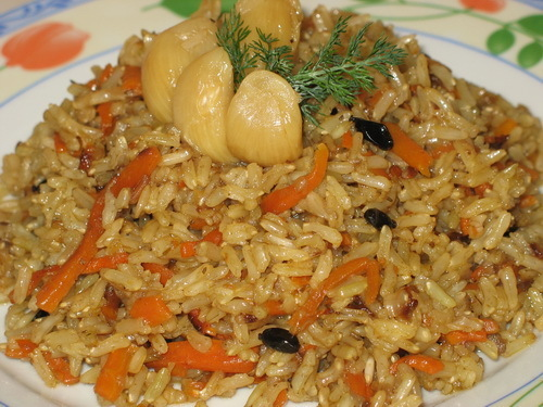 Аппетитный постный плов – рецепт традиционного блюда без мяса