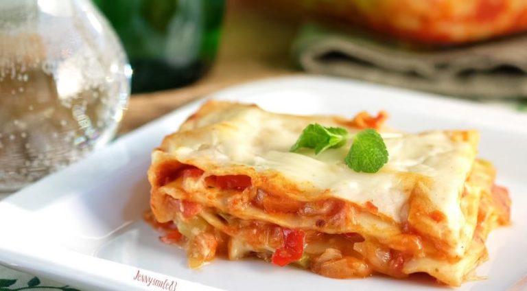 Вегетарианская лазанья – рецепт сытного блюда без добавления мяса!