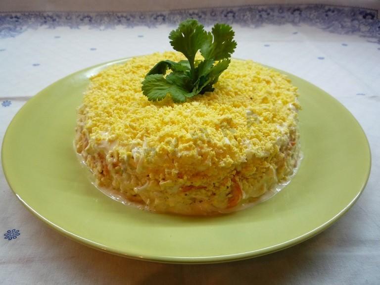 Салат «Марсель» - вкуснейшая закуска на праздничный стол