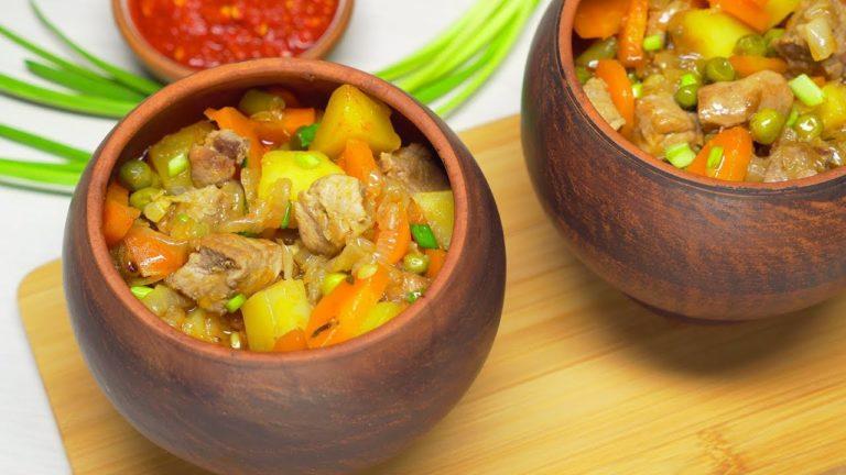Жаркое в горшочке – простой рецепт аппетитного ужина для всей семьи с пошаговой инструкцией
