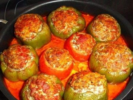 Фаршированные перцы – просто, быстро и безумно вкусно с нашим пошаговым рецептом