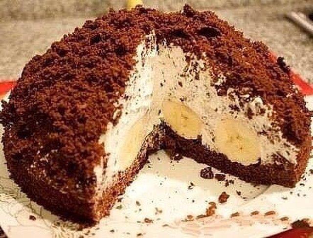 Домашний торт «Норка Крота» - простой и нежный десерт