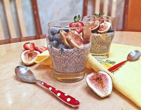 Чиа пудинг на кокосовом молоке – рецепт здорового и сытного завтрака