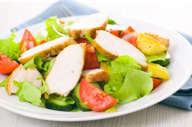 Салат из индейки – рецепт вкусного и полезного блюда с минимумом калорий!