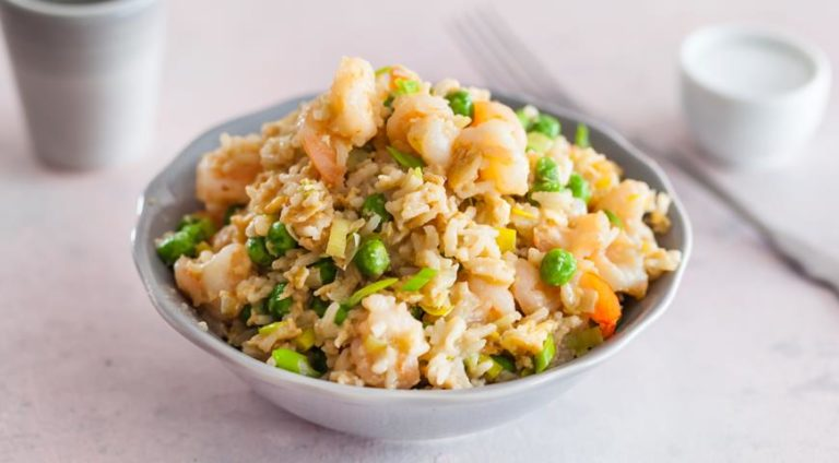 Рис с креветками – готовим вместе вкусный обед для семьи по простому рецепту с подробной инструкцией