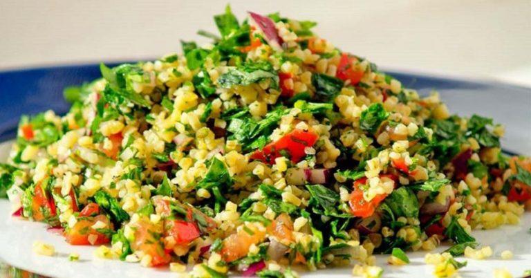 Табуле – классика кухни Ближнего Востока! Простой пошаговый рецепт пикантного салата с фото