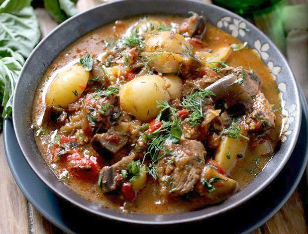 Национальное блюдо грузинской кухни – баранина по-грузински: пошаговый рецепт приготовления по фото