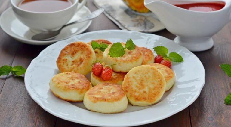 Сырники на манке: пошаговый рецепт с фото
