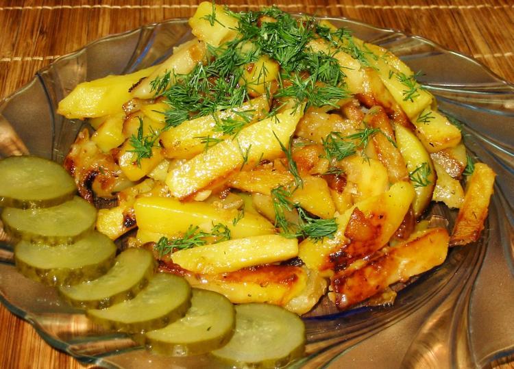 Рецепт жареной картошки с фото. Классика – вечна!
