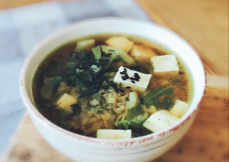 Вкусный и быстрый рецепт супа с тофу для веганов – много пользы, больше вкуса