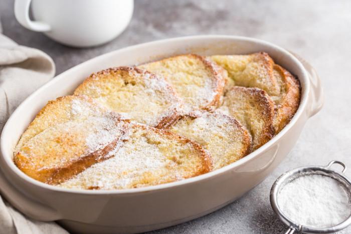 Рецепт хлебного пудинга: классический английский десерт в домашних условиях