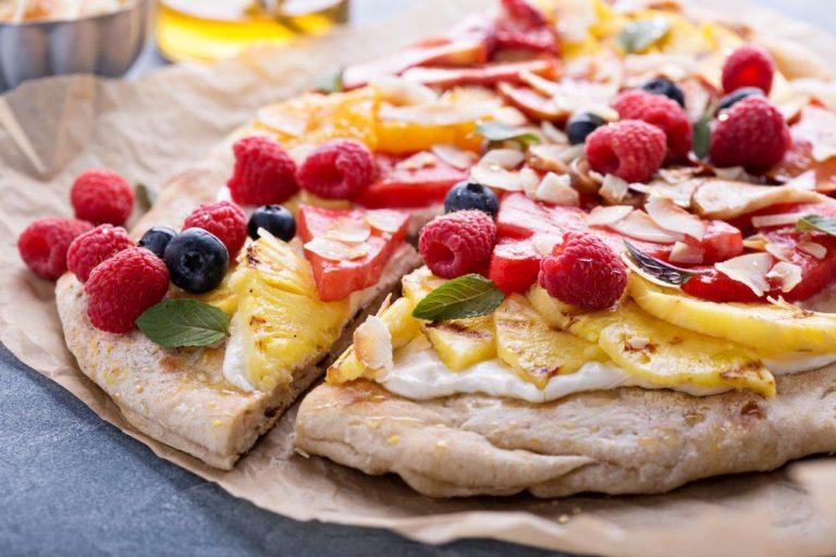 Сладкая пицца: вкусно, аппетитно, сытно для гурманов