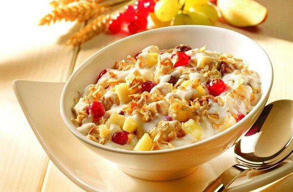 Овсянка с фруктами – быстрый рецепт вкусного и сытного завтрака, готовим вместе