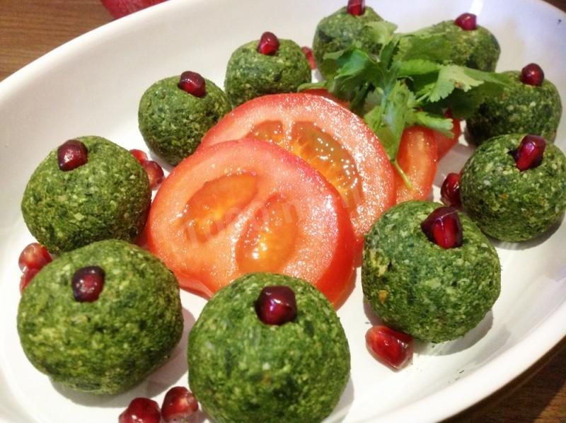 Пхали из шпината – порадуйте семью ароматной грузинской закуской! Пошаговый рецепт с фото